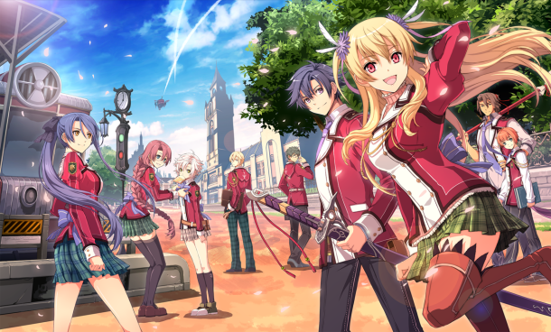 The Legend of Heroes: Trails of Cold Steel | Key Art