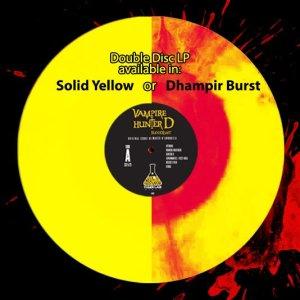 Vampire Hunter D vinyl colors
