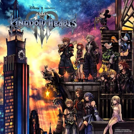 Kingdom Hearts III | Box Art