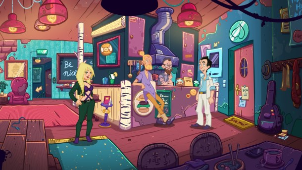 Leisure Suit Larry: Wet Dreams Don't Dry | Hipster bar