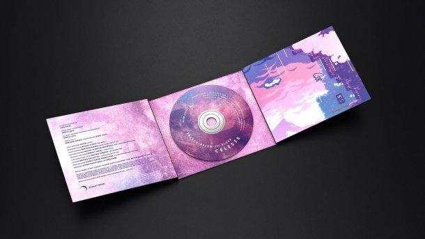 Celeste CD unfolded