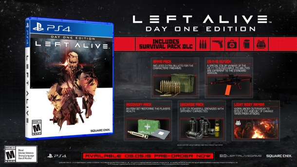 LEFT ALIVE | Physical PS4 Day 1 Edition