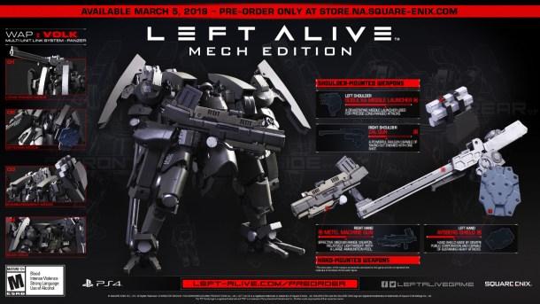 LEFT ALIVE | Mech Edition 2