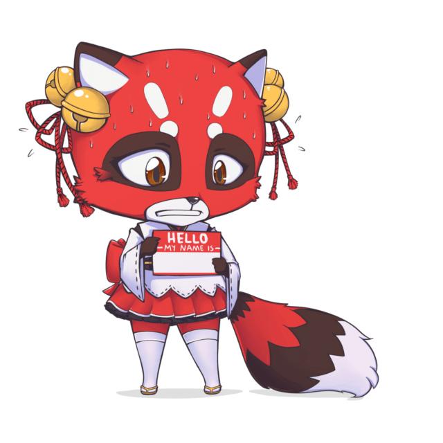 Right Stuf Mascot