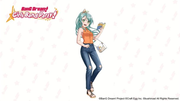 BanG Dream! 1st Election | Sayo Hikawa, Original Illustration