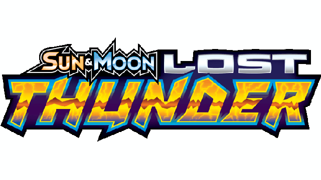 Sun & Moon - Lost Thunder logo