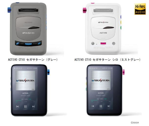 ACTIVO CT10 Sega Saturn models