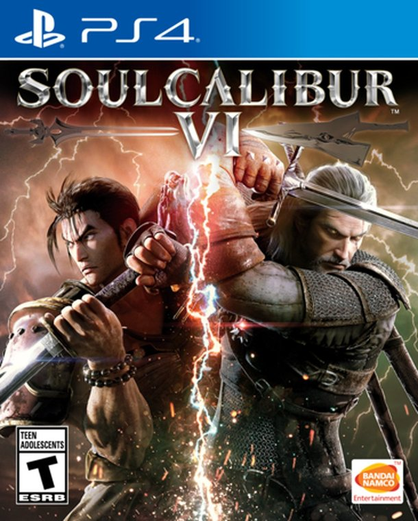 SOULCALIBUR VI | PS4 Box Art