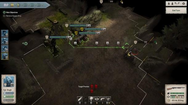 Achtung! Cthulhu Tactics   Combat