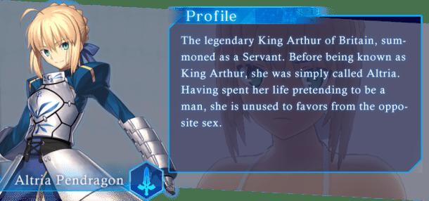 Fate/Grand Order VR | Altria Pendragon