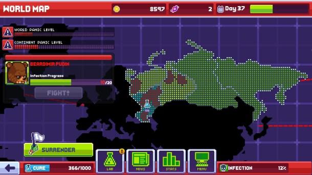 Infectonator 3 | World Map