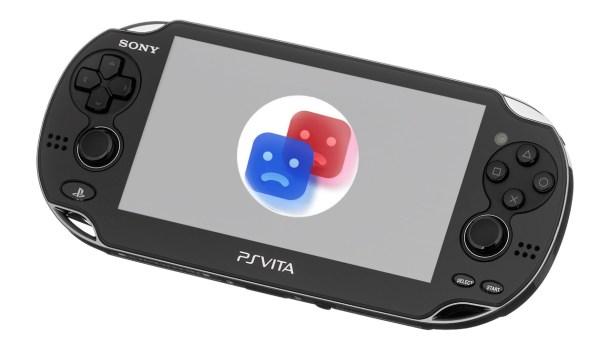 Sad PS Vita