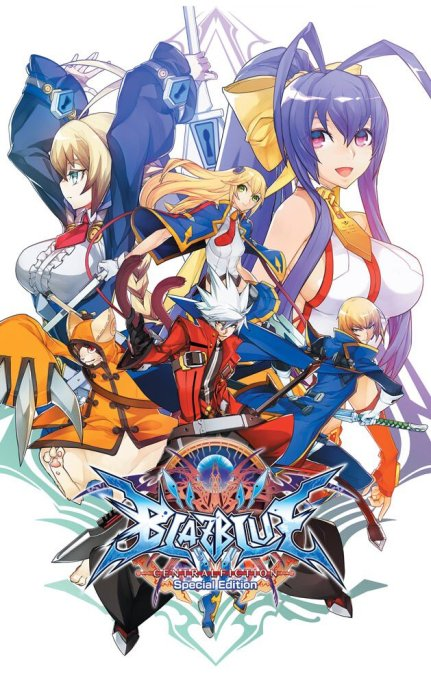 BlazBlue Centralfiction Special Edition | Cover art
