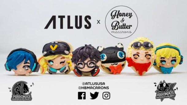 Persona Dancing | Atlus x Honey & Butter Macarons