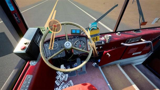 Desert Bus VR | Steering Wheel