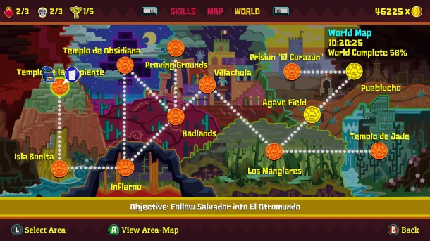 Guacamelee! 2 World Map