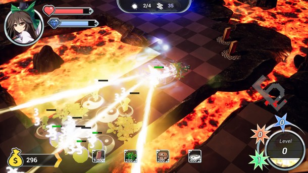 Gensokyo Defenders | Attack