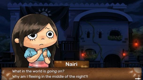 NAIRI: Tower of Shirin | Fleeing