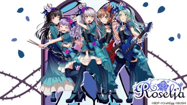 BanG Dream! Girls Band Party | Roselia New Costumes