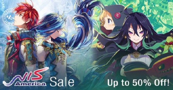 NIS America Publisher Sale