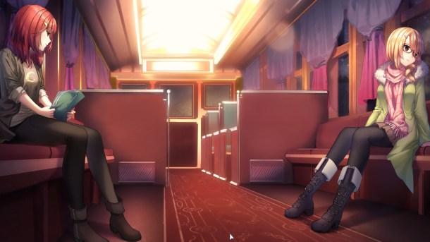 Heart of the Woods | Train scene