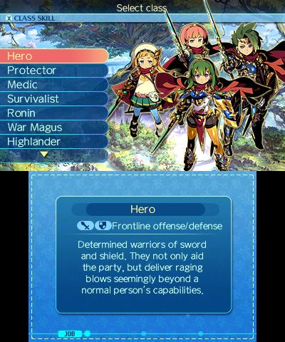 Etrian Odyssey Nexus | Character Maker