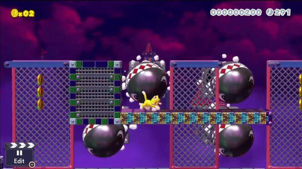 Super Mario Maker 2   Chain Chomp Fun