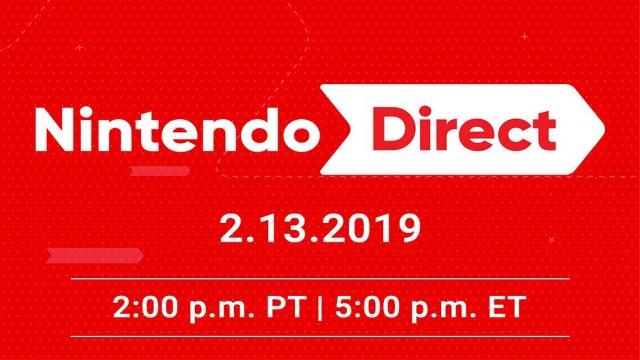 Nintendo Direct Feb 2019