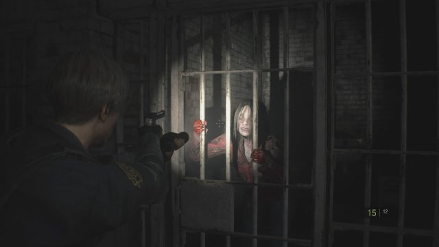 Resident Evil 2 | Zombie in cell
