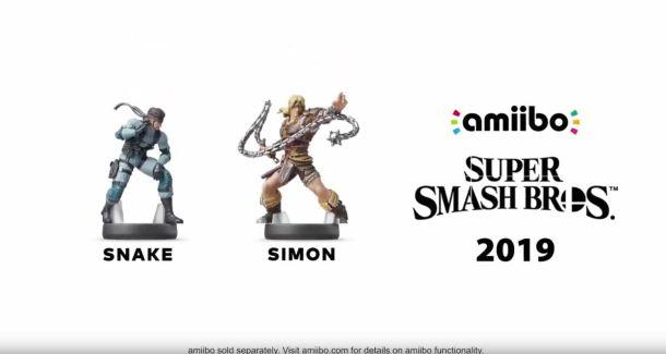 Smash amiibo | Snake and Simon