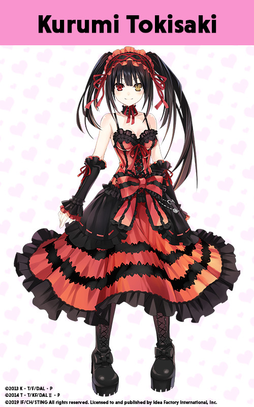 Date A Live: Rio Reincarnation | Kurumi Astral Dress