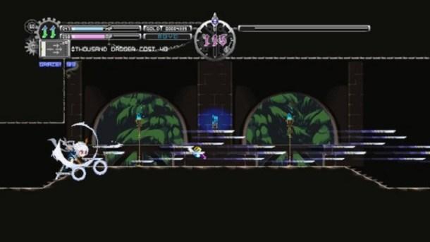 Touhou Luna NIghts Screen