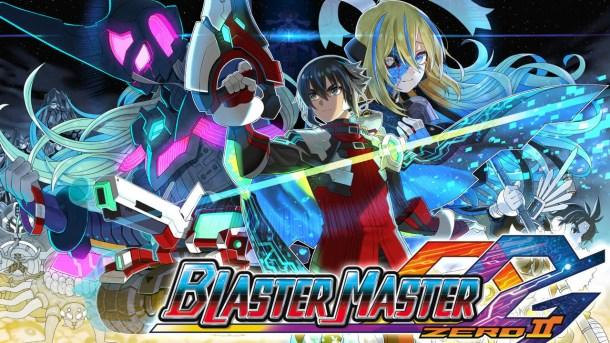 Blaster Master Zero 2 | Title Graphic