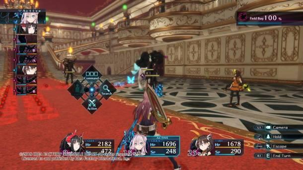 Death end re;Quest | Combat
