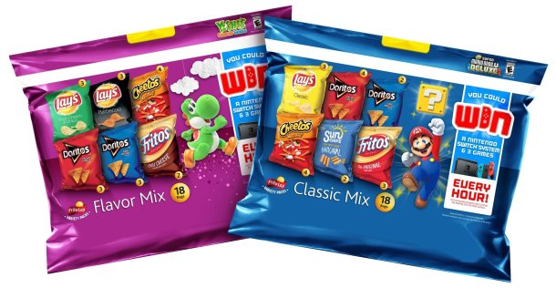 Nintendo / Frito-Lay Variety Packs