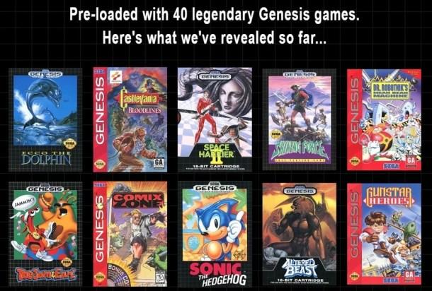 Genesis Mini | NA-EU Lineup