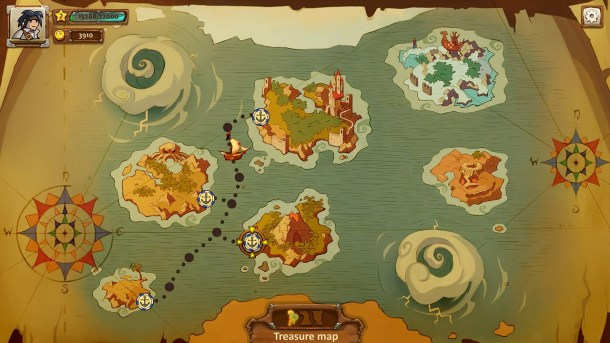 Braveland Trilogy | The Sea Map