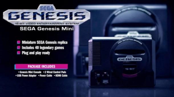 oprainfall | Sega Genesis Mini