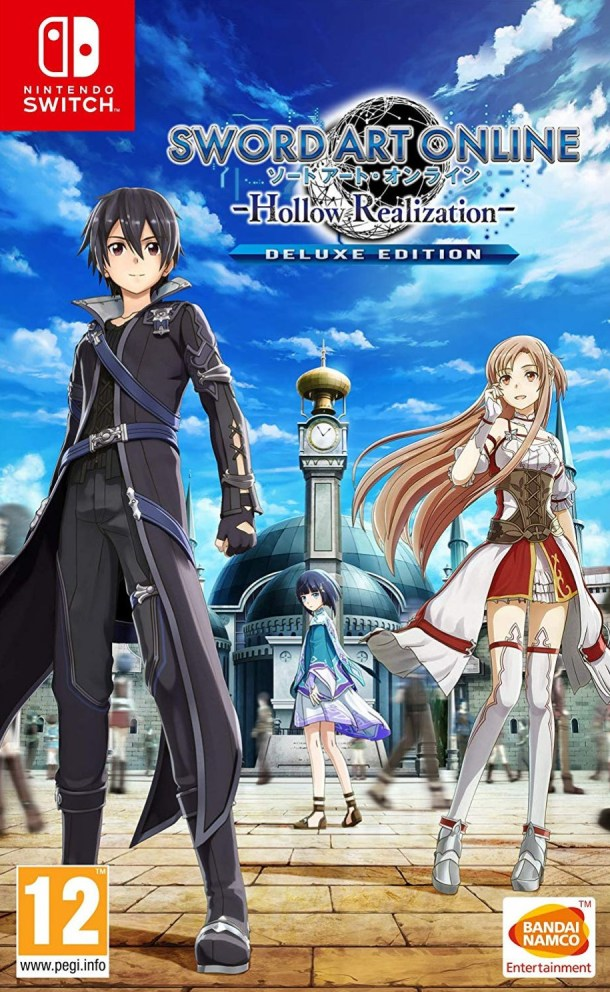 Sword Art Online: Hollow Realization | EU Switch Cover