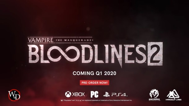 Vampire: The Masquerade - Bloodlines 2 | Announcement