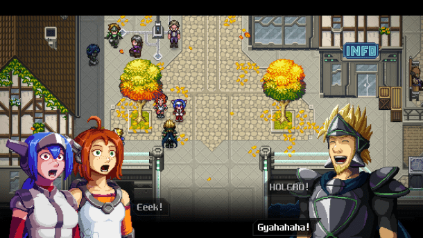 CrossCode | Characters