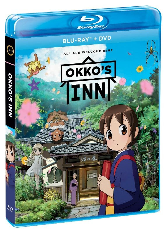 Okko's Inn Blu Ray | box