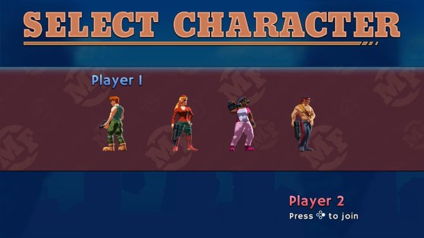 Mechstermination Force | Character Select