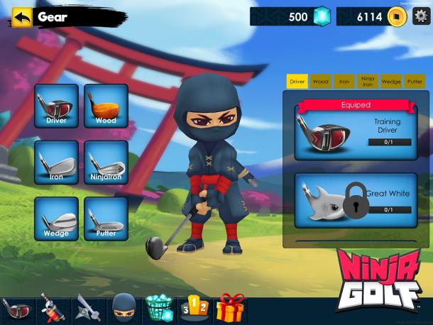 Ninja Golf | Clubs