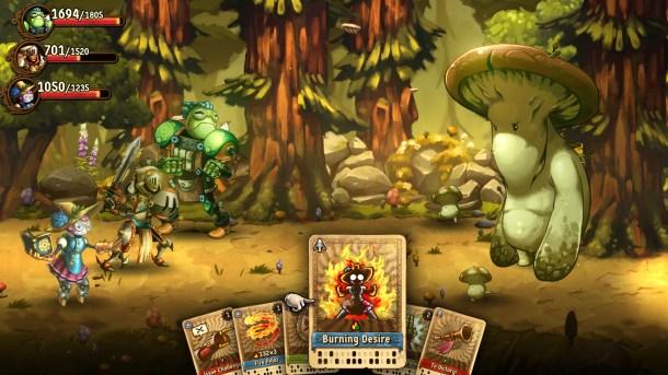 SteamWorld Quest | Boss Battle