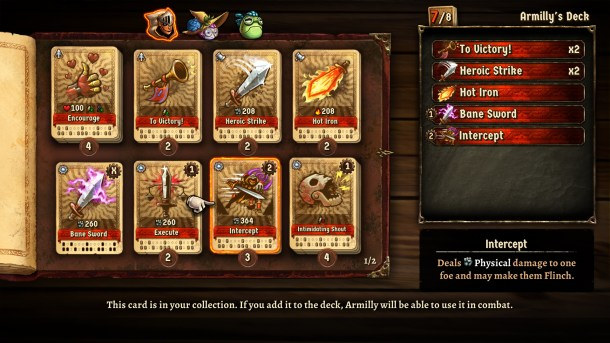 SteamWorld Quest | Deck Building