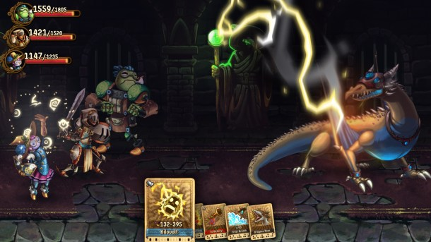 SteamWorld Quest | Lightning
