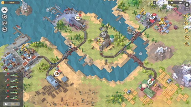 Train Valley 2 | Separate Rails