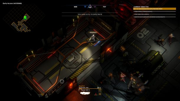 Trident's Wake | Exit Elevator
