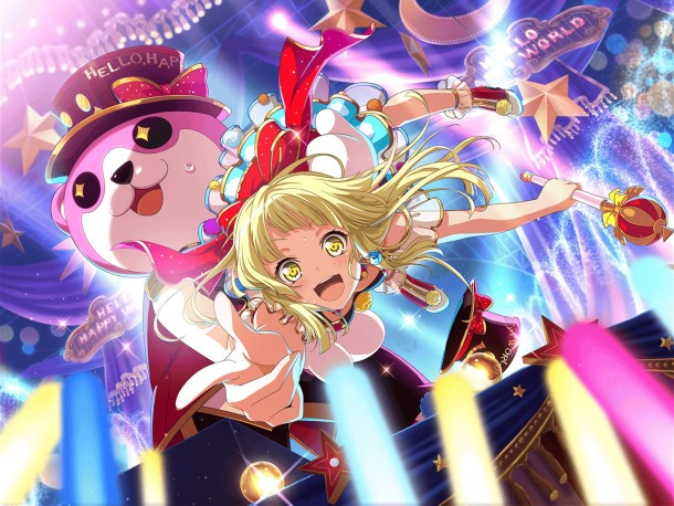 BanG Dream! | Kokoro Tsurumaki Card Art